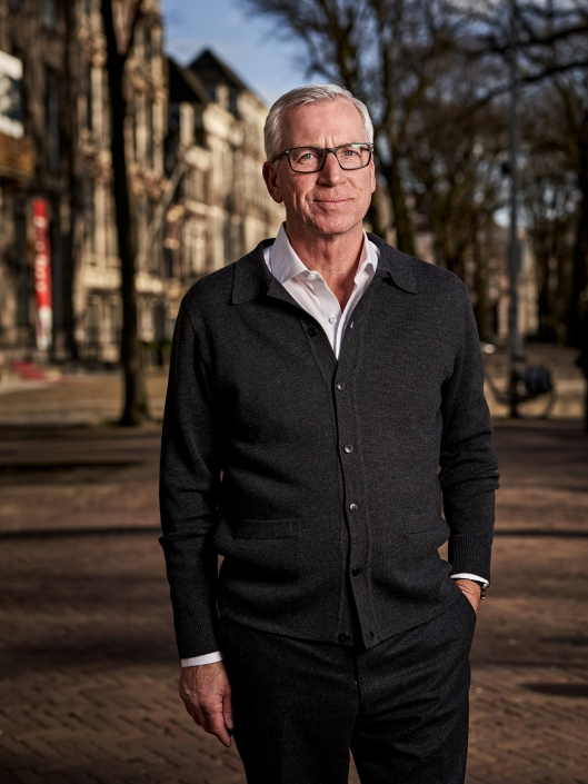 ADO Den Haag coach Alan Pardew during a photoshoot on 04th of March in Den Haag, The Netherlands